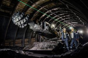 взрывозащищенный лазерный указатель направления в шахте