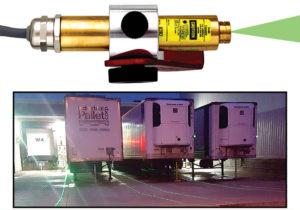 Лазерная система для доков грузовых терминалов